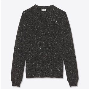 Saint Laurent diamond studded wool sweater